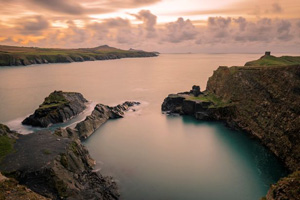 Abereiddy and The Blue Lagoon